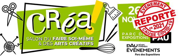 Salon Créa de Pau Logo